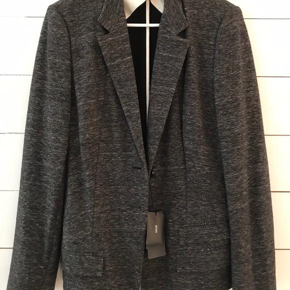a442341ed0e Hugo Boss Cotton and Wool Jasmena Blazer Size 10